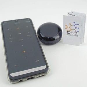 Control remoto infrarrojo inteligente WiFi TuyaSmart, con control de TV y manual D+D Technology