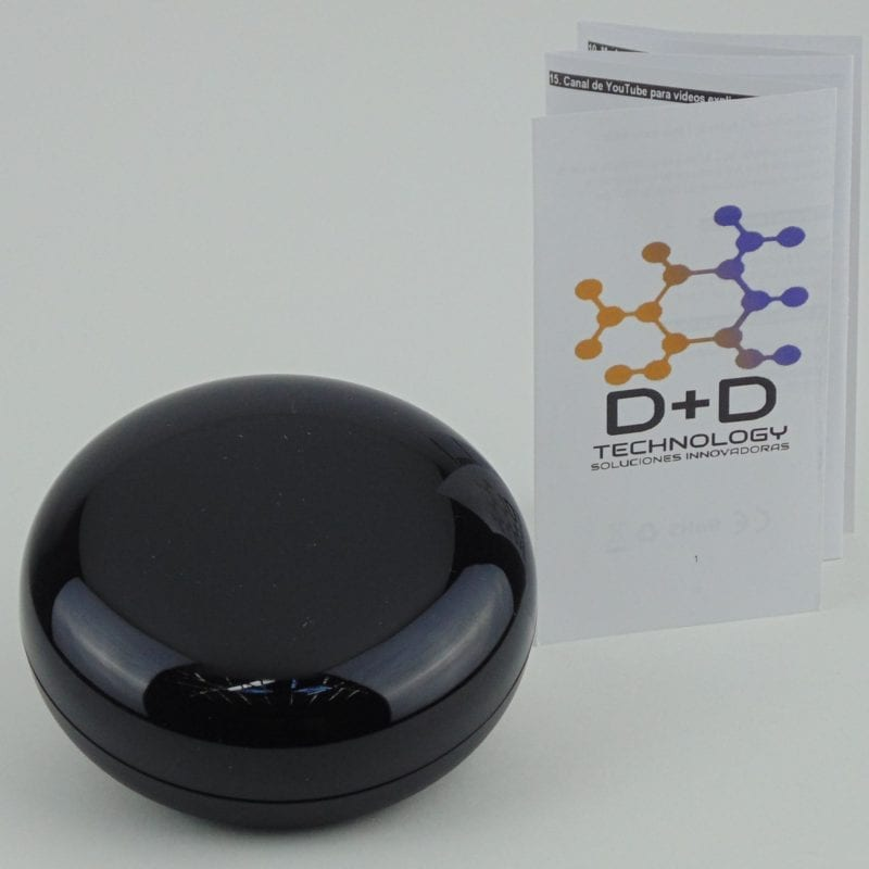 Control remoto infrarrojo inteligente WiFi TuyaSmart, con manual D+D Technology