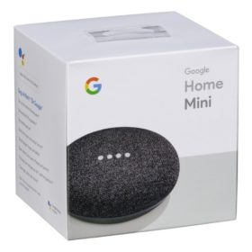Google Home Mini Charcoal caja
