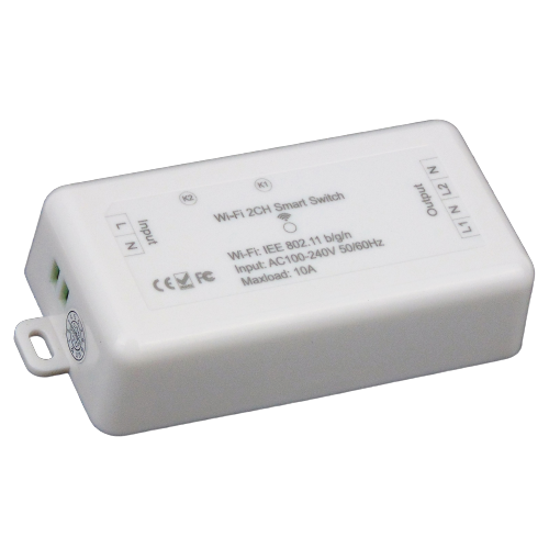 Interruptor 2 circuitos WiFi Inteligente TuyaSmart