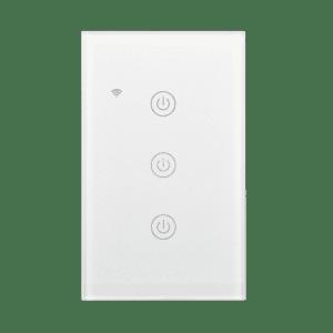 Llave táctil de 3 Teclas WiFi Inteligente TuyaSmart