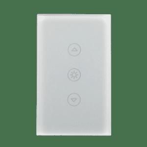 Llave dimmer blanca inteligente WiFi TuyaSmart