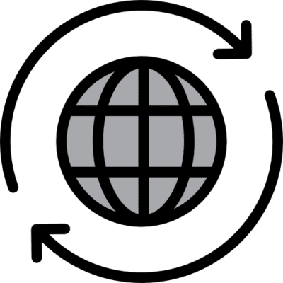 Logo global o worldwide