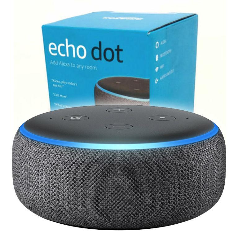Amazon echo dot 3ra generación con caja