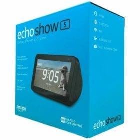 Amazon echo show 5 en caja