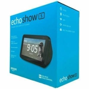 Amazon echo show 5 en caja