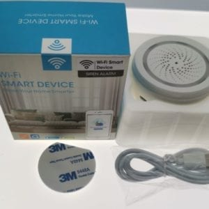 Sensor de temperatura y humedad TuyaSmart