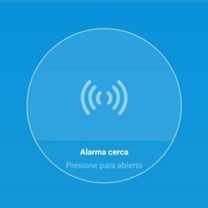 Imágen de la app con el Sensor de temperatura y humedad WiFi TuyaSmart