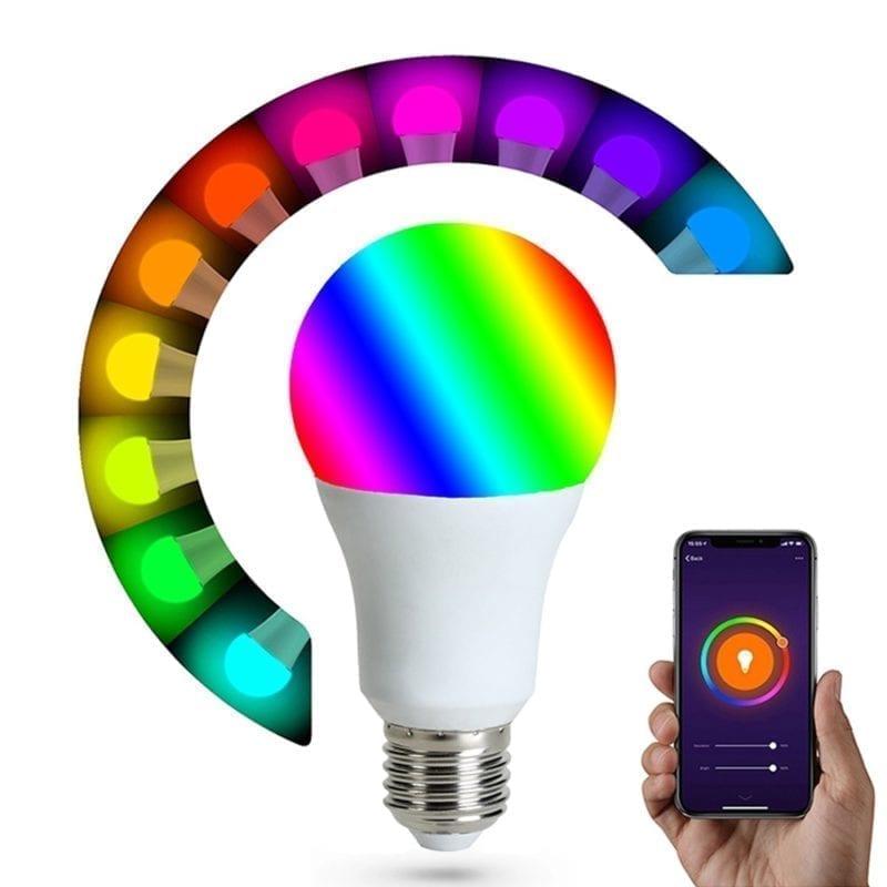 Lámpara 9W multicolor WiFi TuyaSmart