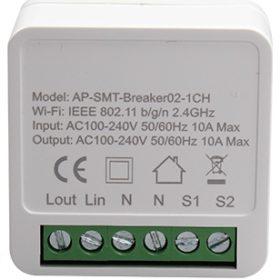 Mini switch 1 circuito WiFi Inteligente TuyaSmart