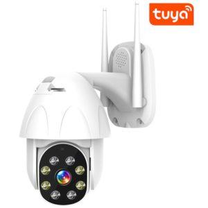 Cámara Para exterior Motorizada Tuyasmart WiFi 2mp 1080p