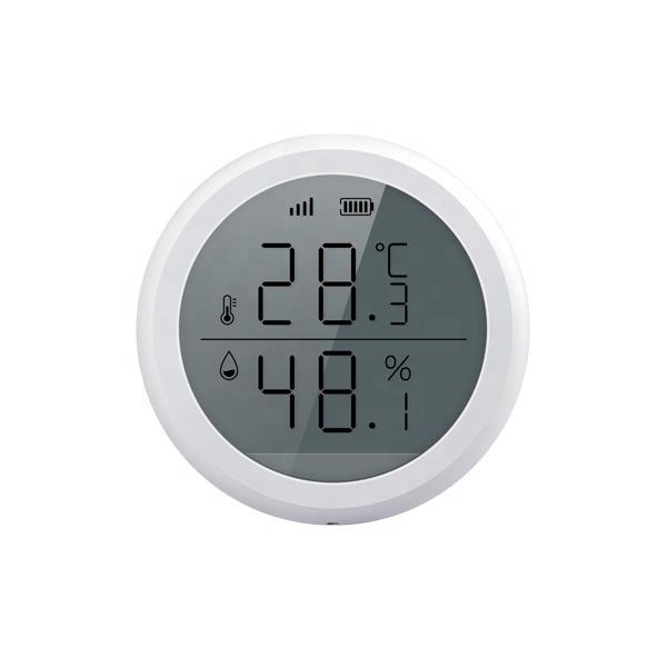 Sensor de temperatura y humedad Zigbee TuyaSmart