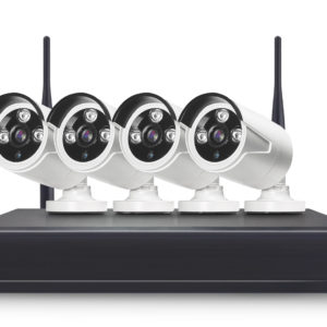 Kit NVR con 4 cámaras Tuyasmart WiFi 2mp 1080p